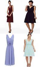 BHS Bridesmaid Dress Ruby Short Mint Purple Cornflower Merlot 10 12 14 16 18 20