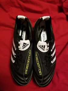 Adidas Predator X SG Mens Soccer Shoes Cleats Black 7.5