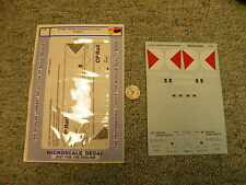 Microscale decals 87-706 CP Rail cylindrical hoppers  K92