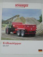 KRAMPE SK/HP Erdbaukipper, Muldenkipper Prospekt von 10/2019 ( 389 )