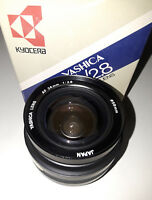Yashica (Kyocera) AF 24mm/F2.8 Interchangeable Macro Lens (BRAND NEW!)