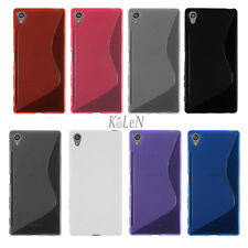 S-Style TPU Soft Gel Silicone Case Cover Skin For Sony Xperia Z5 / Z5 Premium