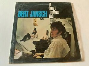 Bert Jansch It Don't Bother Me SEALED Transatlantic Record original vinyl album