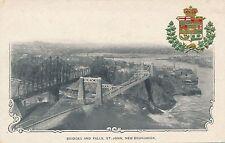 SAINT JOHN NB – Bridges and Falls – udb (pre 1908)