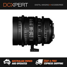 Sigma 18-35mm T2 Cine High-Speed Zoom Lens (Sony E) & BONUS 32GB SD CARD