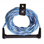 AIRHEAD Water Ski Rope 1 Section 75' AHSR-5 Blue w/ Handle 16 Strand Rope