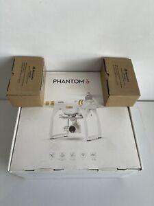 DJI Phantom 3 4K Quadcopter Drone includes 2 Batteries