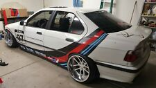 BMW E36 Sedan 4dr F+R Overfenders Fitment Lab WideBody - with DOOR HANDLE cuts