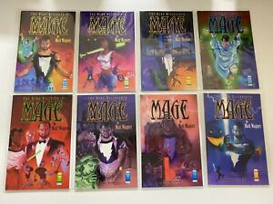 Mage The Hero Discovered Collection set #1-8 Image 8 pieces 4.0 VG (1998 2000)