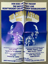 LARRY HOLMES-TIM WITHERSPOON ORIGINAL CLOSED CIRCUIT POSTER (1983)