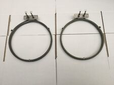 EXPRESS 2 x Genuine AEG 900mm Oven Fan Forced Element BE7900061M 944031663