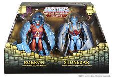 MOTU CLASSICS - Rokkon & Stonedar -  CASEFRESH OVP! NEW - Ungeöffnet -