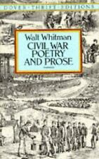 Civil War Poetry and Prose (Dover Thrift Editions) Walt Whitman Paperback