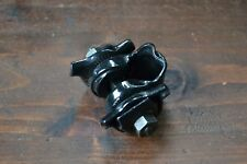 Vintage Black Steel Bike Saddle Clamp Seat Clip 1980's