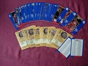 Fleer '91 Basketball Cards X78/240 PART SET ONLY! 1991 VFN