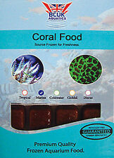 Frozen Fish food-5 x 100g blister Coral food.