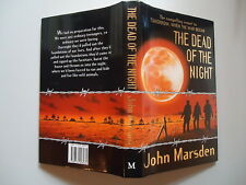 THE DEAD OF THE NIGHT by JOHN MARSDEN 1994 FIRST EDITION TOMORROW SERIES BOOK 2