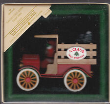 1984 Hallmark Santa's Deliveries Here Comes Santa Series Ornament Dated NIB NEW