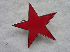 RAGE AGAINST THE MACHINE / RED STAR / HEAVY METAL - Badges/ Pins, Enamel, Music