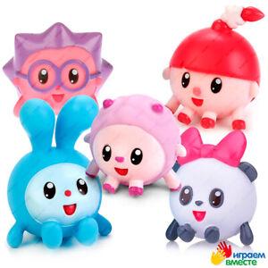 Malyshariki, Babyriki, Bath Toys, Rubber, Original