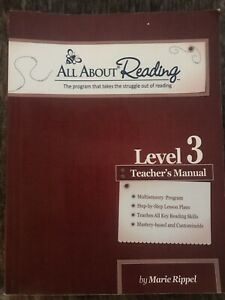 All About Reading Level 3 Teacher, Student Book, 2 Readers by Marie Rippel