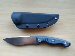 Kubey Messer Brave KB 269, Kukri, Full Tang, D2, 12cm, 5mm, G10, Kydex, Teclock