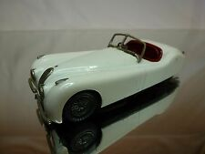 WESTERN MODELS KIT (built)  JAGUAR XK 120 - WHITE 1:43 - NICE