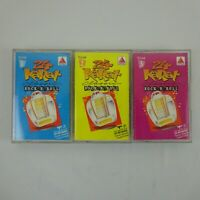 Citgo 24 Karat Classic Rock N Roll Vol. 1-3 Cassette lot of 3 Various Artists