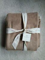 NWT Pottery Barn Shearling Throw Blanket Fleece