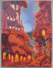 WIDESPREAD PANIC Fox - Atlanta New Years 2017 Fireworks Foil Variant Poster #/18