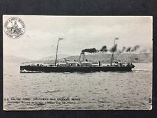 Vintage Postcard : L & NW Railway #125 - SS Galtee More Holyhead & Greenore