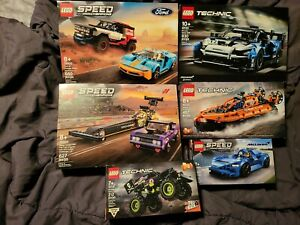 Lego Speed Champions Ford GT Bronco  76905 42123 76904 42120 76902 42118 NEW