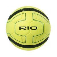 Precision Rio Indoor Football 5 Yellow/black - Training Soccer Match Yellow