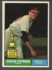 1961 Topps #395 Chuck Estrada