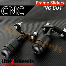 CNC Frame Sliders (No Fairing Cut) for KTM 125 / 200 Duke