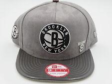 Brooklyn Nets Suede Jordan 11 9FIFTY NBA New Era Strapback Hat Baseball Cap S/M
