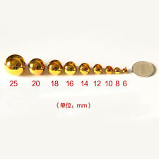 Silver Gold Bronze Metal Brass Jingle Bells Christmas Charm Loose Beads Gifts
