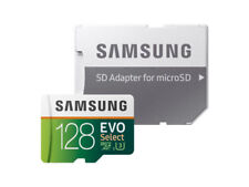 Samsung EVO Select 128GB, Class 10 90MB/s - microSDXC Card (MB-ME128GA/AM)