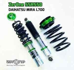 ZERONE ADJUSTABLE COILOVER SUSPENSION KIT FOR DAIHATSU CUORE MIRA L700 MOVE L900