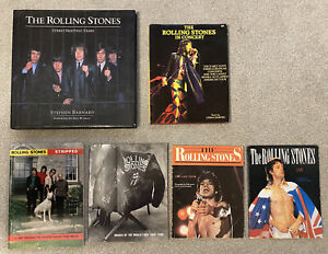 Rolling Stones Concert Books & Biography