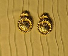 CELINE Cufflinks made in Italy  Gold plated