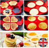 Non Stick Flipping Pancake Maker Silicone Mold Food Egg Omelette Ring Breakfast