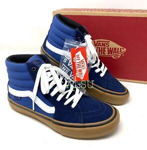 VANS SK8-Hi Pro Rainy Day Blue Suede Canvas Women's Sneakers VN0A45JDST8
