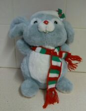 "RUSS BERRIE CHRISTMAS MOUSE ""MISCHIEF"" PLUSH TOY ANIMAL - ITEM NO. 7587"