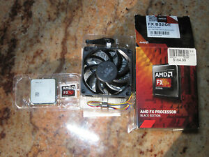 AMD FX-8320E Black Edition 3.2GHz Eight Core AM3+ 95W Desktop CPU Processor