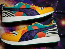 Mens Puma RS-100 what the Animal Print size 11.5 Free Shipping!