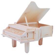 Wooden Grand Piano Music Box DIY Craft Decorative Box for Kids-Fur Elise