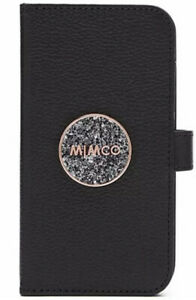 MIMCO Phone Flip Case Cover BLISS iPhone 11 Black Rose Gold  BNWT Sparks Logo