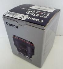 Canon EF 85mm f/1.2 L II AF USM Lens in Excellent condition (LNIB)