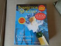Inspector Mcclue Mystery Dinner Party The Champagne Murders DVD New sealed